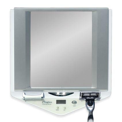 Fog-Free Shower Mirror