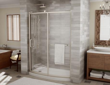 Modern Bathroom Showers & Vessel Sinks