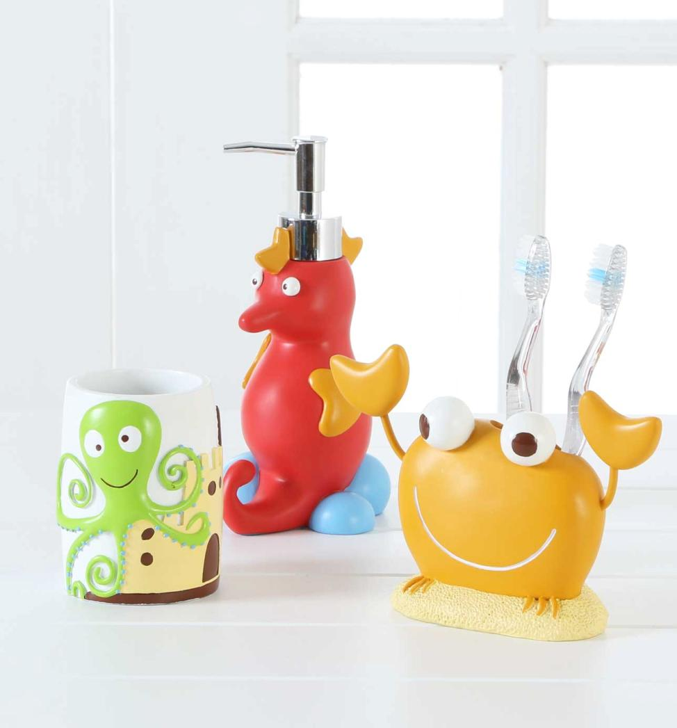 Ideas for Storing Your Children's Bath Toys