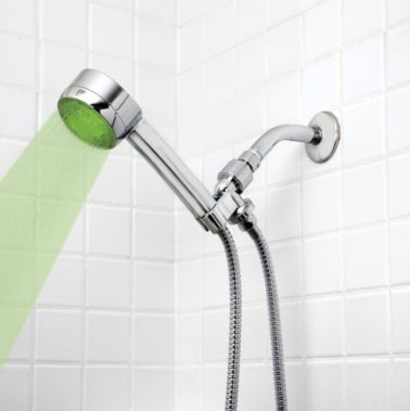 LED Shower Head in Chrome