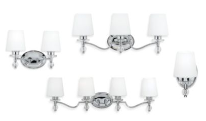 Polished Chrome Bath Light Fixtures
