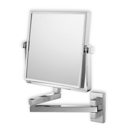 Square Double Arm 3X/1X Wall Mirror