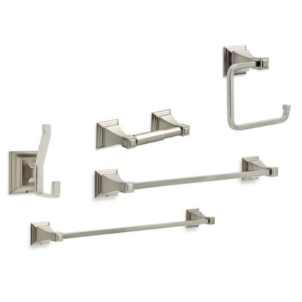 Delta Lynwood Bath Wall Hardware in Satin Nickel