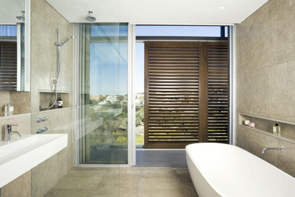 Spa-Like Look for Bathroom