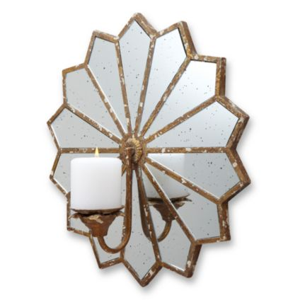 La June Starburst Mirror Wall Sconce