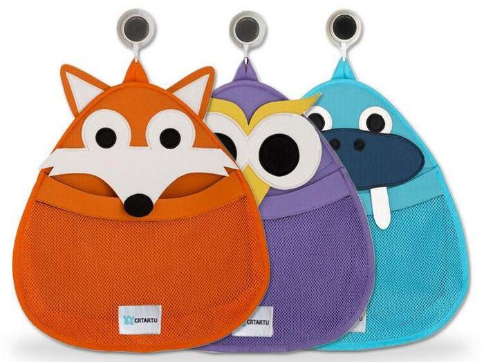 Children\'s Bath Toys Storage Ideas | Purebathrooms.net