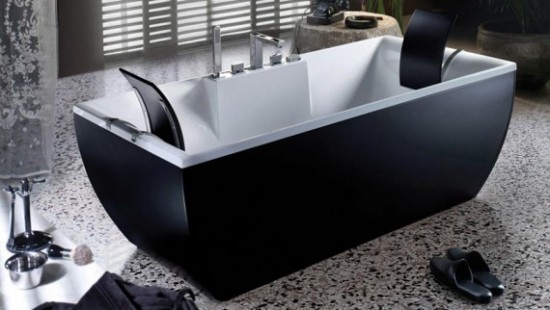 Kali Black Bathtub
