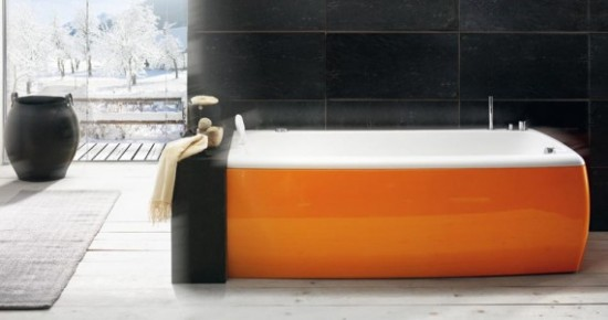 Orange Bathtub