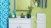 Bathroom Storage & Organization Ideas for Pedestal Sinks, Cabinets and more