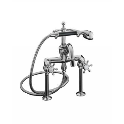 Antique Wall-Mount Kitchen Faucet