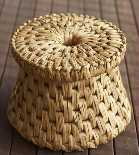 Woven Reed Table