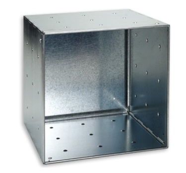 Galvanized Storage Cube