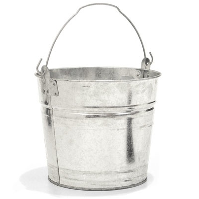 The Two Gallon Galvanized Bucket