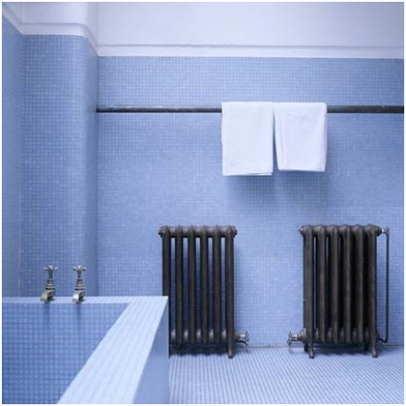 Bathroom: Long Towel Rail Idea