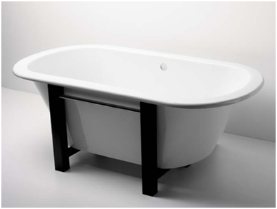 Pier Freestanding Oval Bathtub