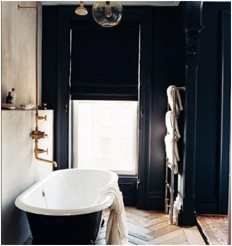 Dark bath in Brooklyn