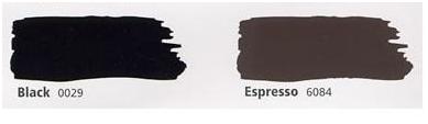 Hollandlac and Espresso Paint